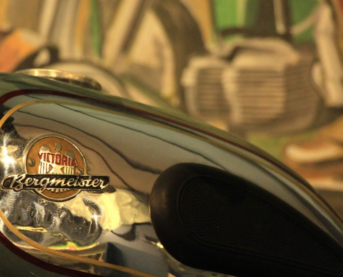 Victoria Motorrad im Motorradmuseum