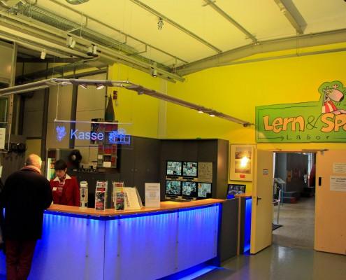 Eingang Museum Industriekultur