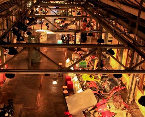 Blick in eine Ausstellungshalle des Museums Industriekultur